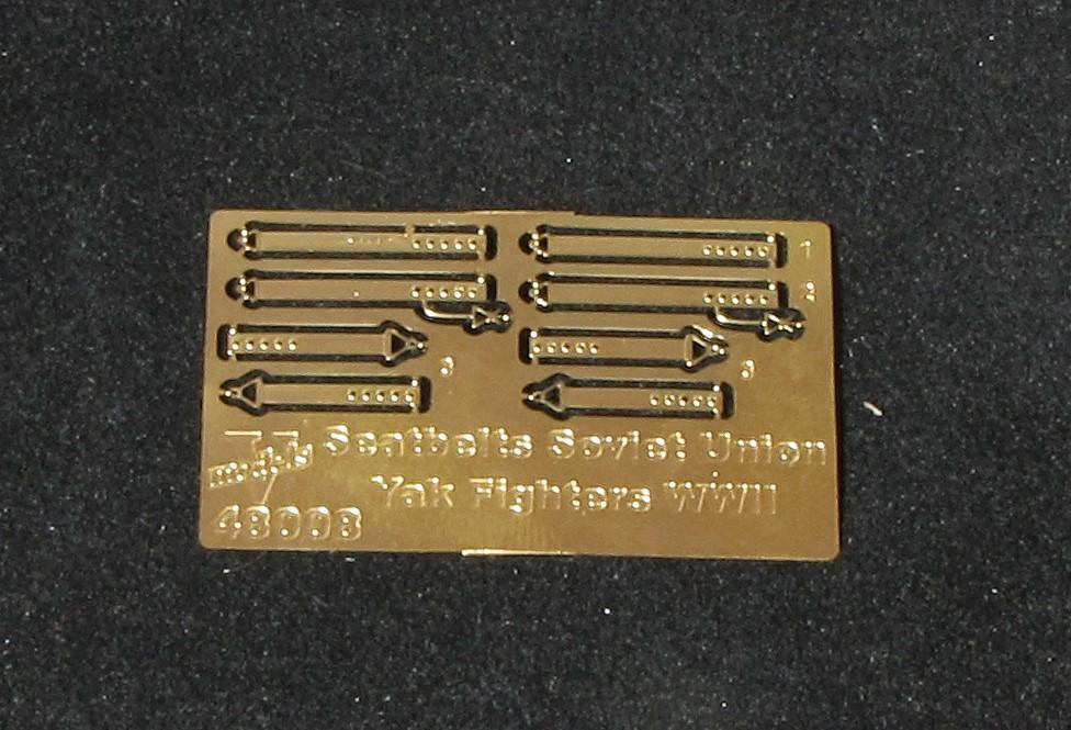 Seatbelts Soviet Union Yak Fighters WWII 48008