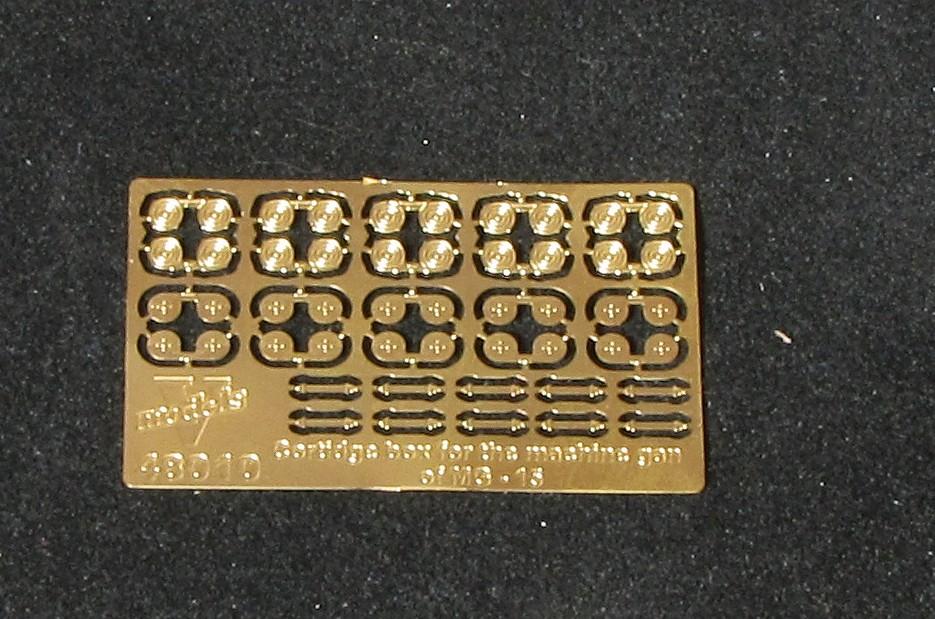 Cortidge box for the machine gan of MG- 15 48010