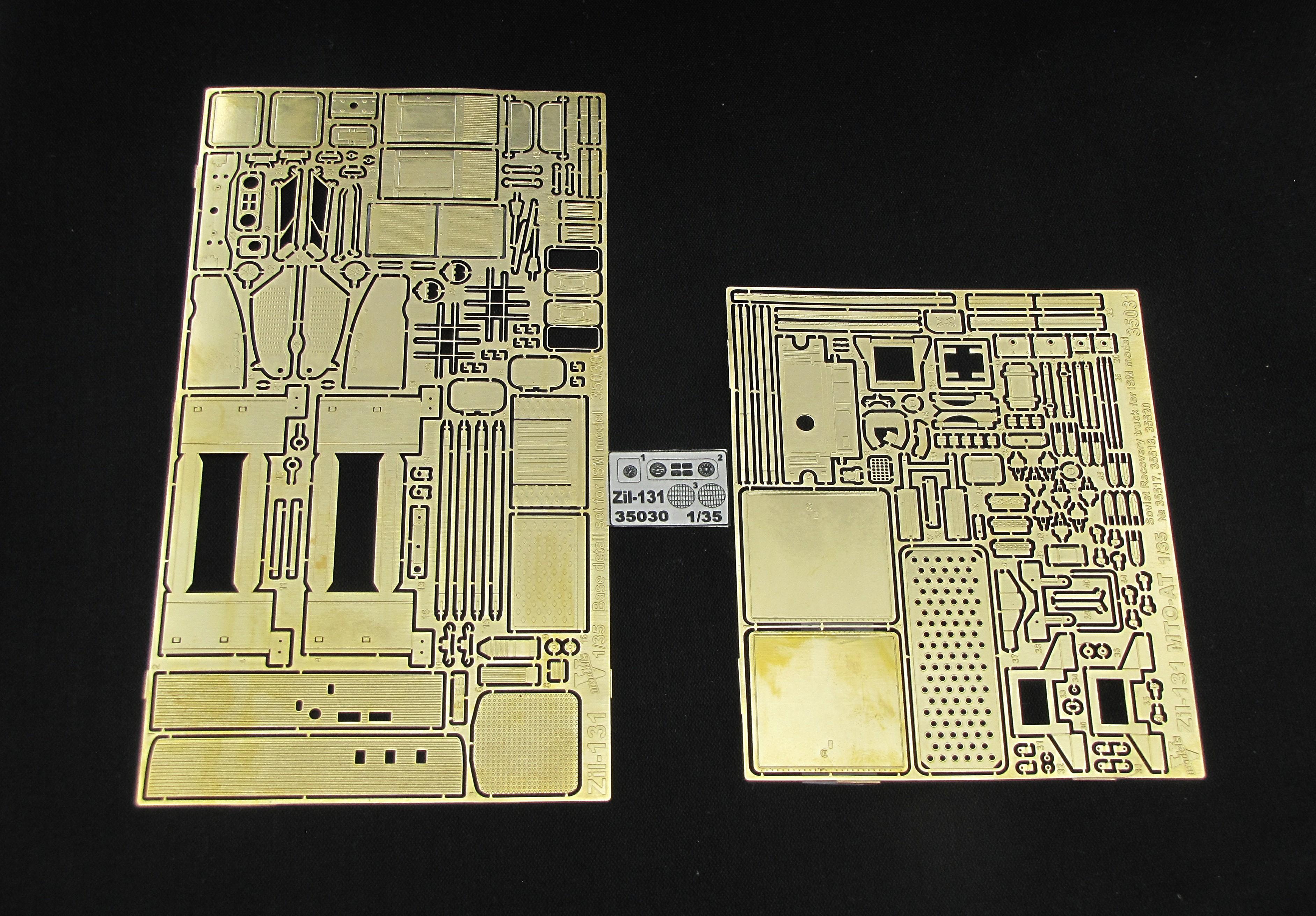 """НАБОР ZiL - 131 (""""ICM"""" model kit)"""