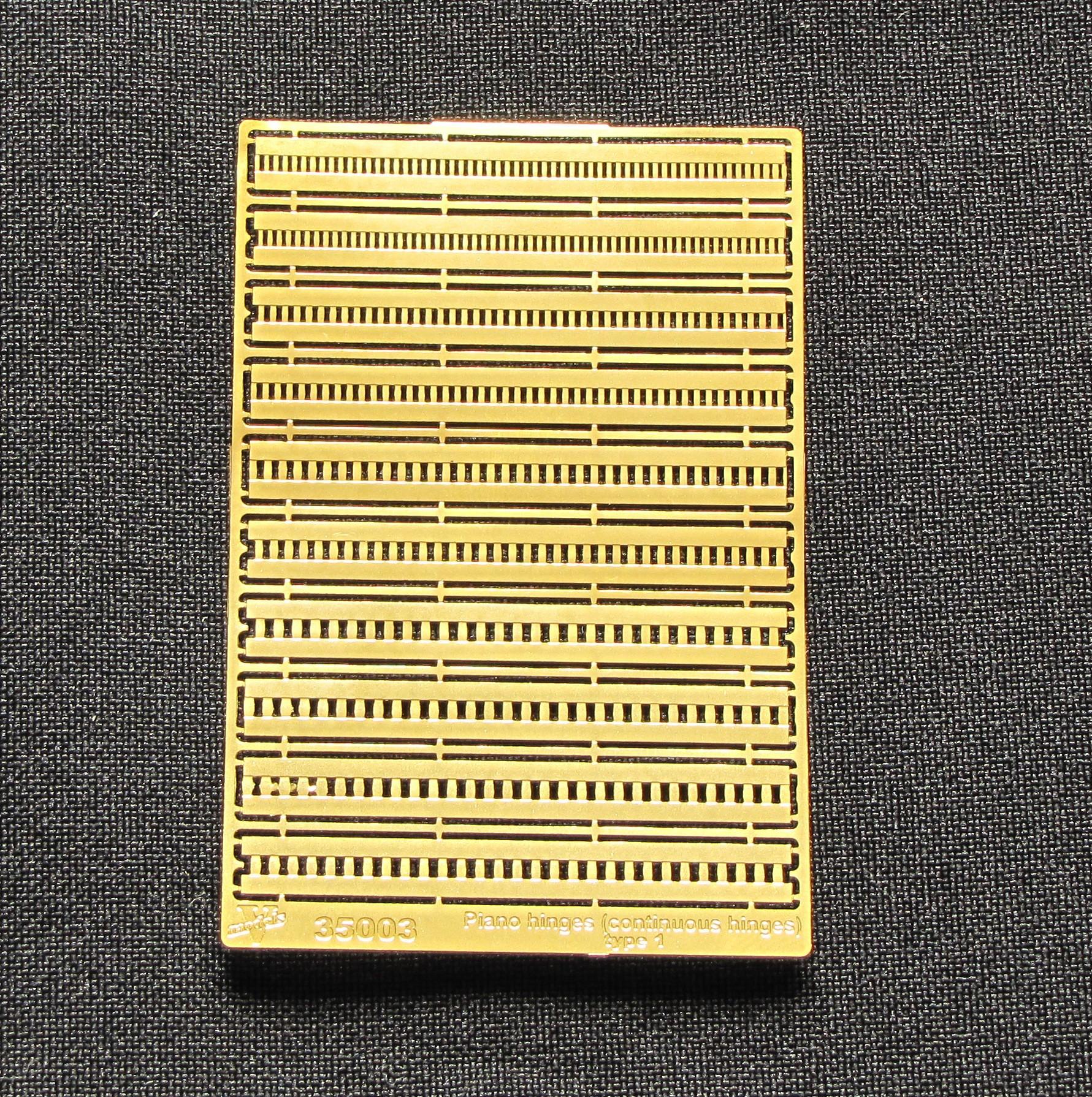 Рояльные петли Тип 1 35003