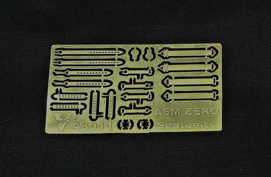 A6M Zero Seatbelts  48011