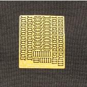 Замки крепления шанцевого инструмента на немецкую технику 35015